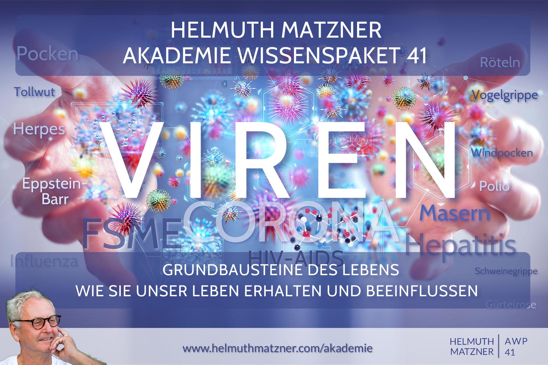 Helmuth Matzner - Akademie Wissenspaket 41 - Viren - Banner v1D