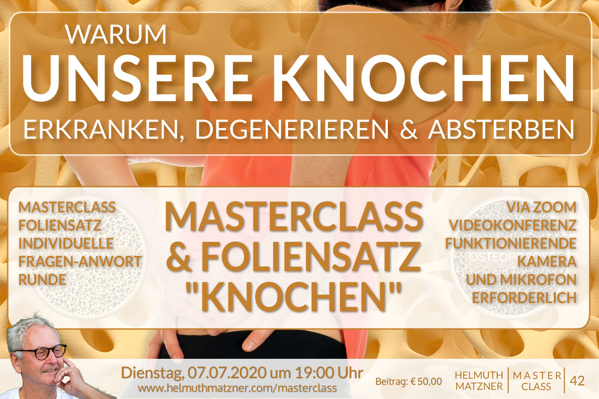 Helmuth Matzner - Masterclass 42 - Knochen - Banner v1B