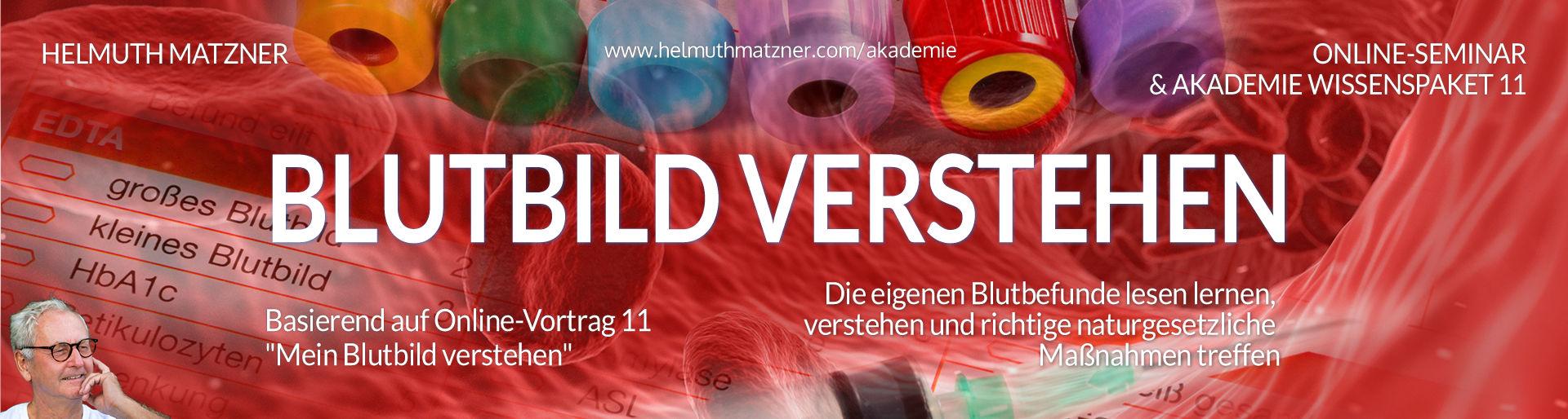 Helmuth Matzner - Masterclass & Akademie Wissenspaket 11 - Blutbild Verstehen v01B
