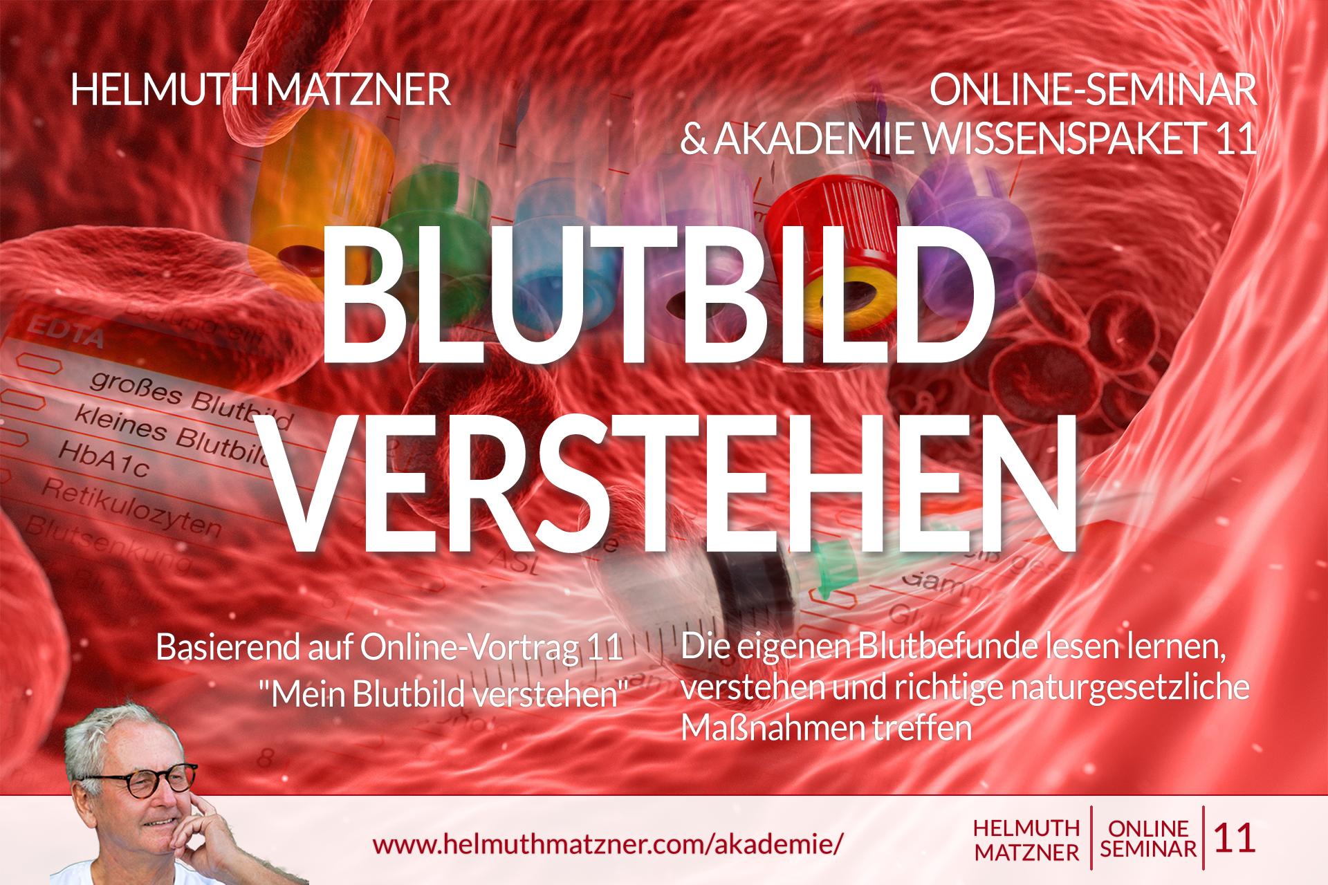 Helmuth Matzner - Masterclass & Akademie Wissenspaket 11 - Blutbild Verstehen - Akademie v05