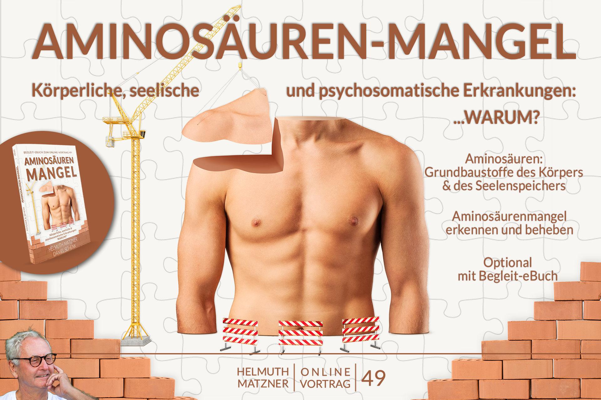 Helmuth Matzner - Online-Vortrag 49 - Aminosäurenmangel - Archiv - v05