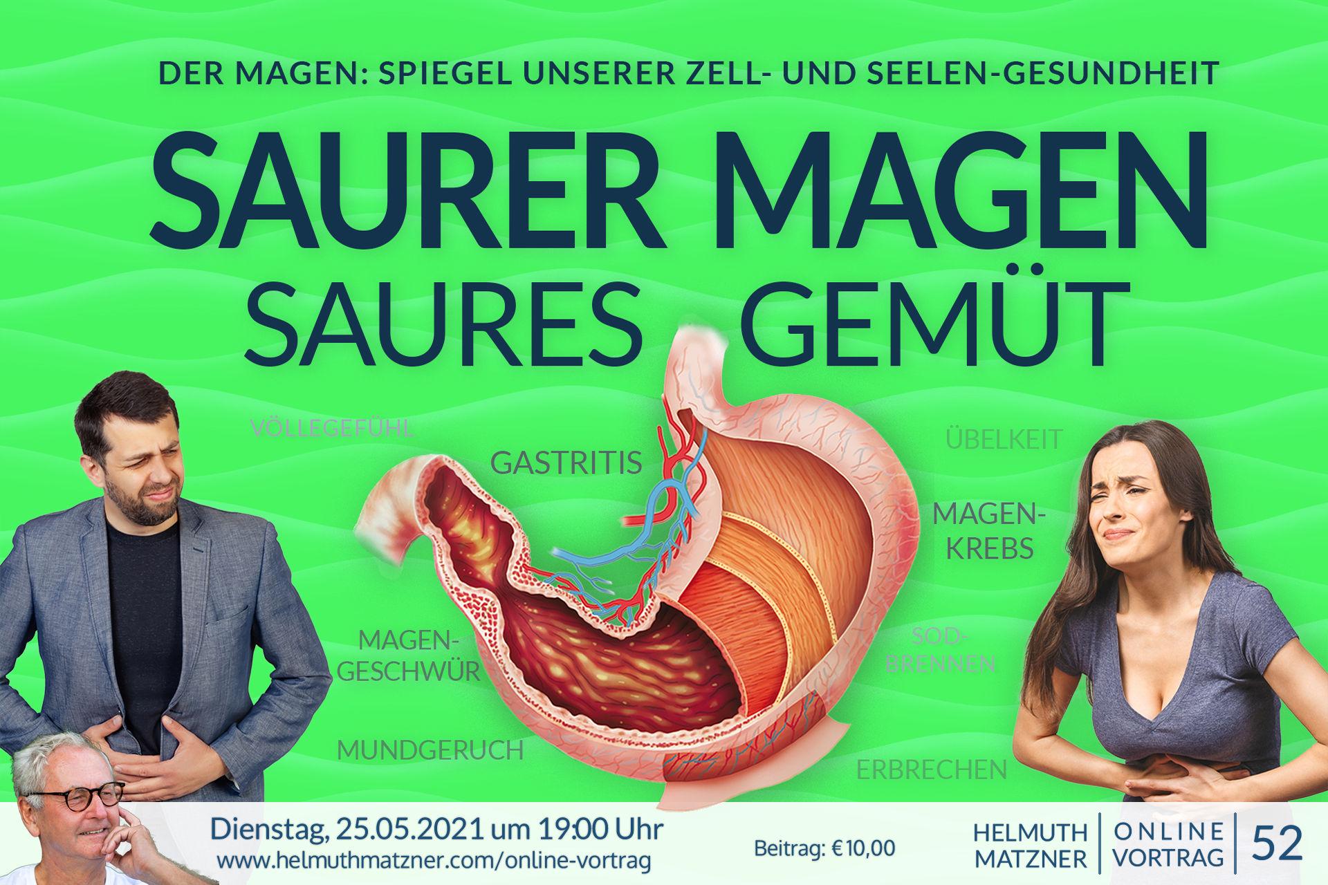 Helmuth Matzner - Online-Vortrag 52 - Magen - Banner v01